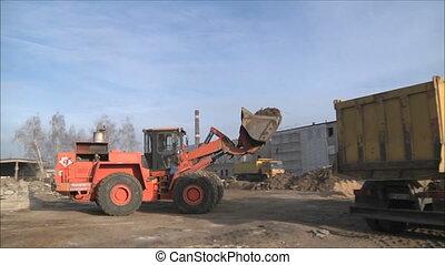 bulldozer will ship ground