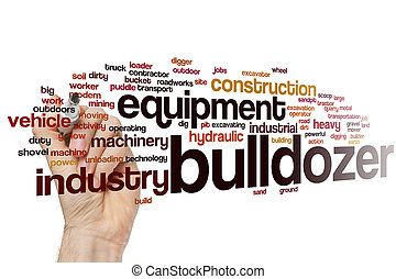 Bulldozer word cloud