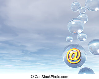 bulle, email