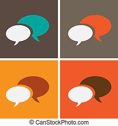 bulles, parole, dialogue
