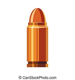 Bullet icon in cartoon style