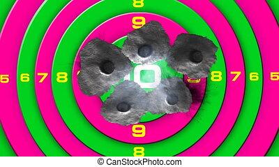 bullet target