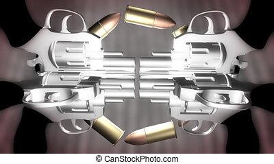 Bullets and Guns Loop - Bullets and Guns Looping Animated...