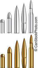 bullets - Set of various bullets