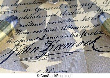 Bullets on Bill of Rights