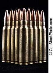 Bullets on Black