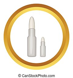 Bullets vector icon
