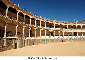 Bullfighting arena in Ronda, Spain