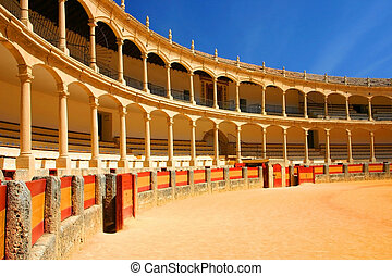 bullfighting arena ronda