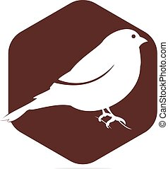 Bullfinch logo design.