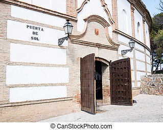 bullring in Antequera, Malaga