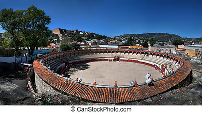 Bullring in Tlaxcala, Mexico - The Jorge Aguilar El Ranchero...