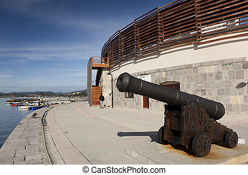 Bullring of Santoña, Cantabria, Spain
