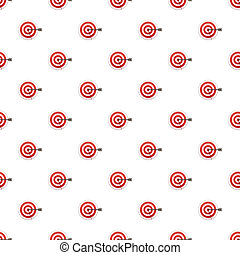 Bulls eye target pattern seamless repeat background for any...