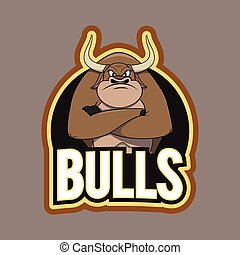 bulls illustration design