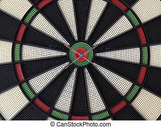 Bullseye darts dartboard