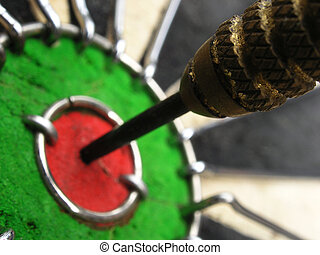 Perfect bullseye macro detail.