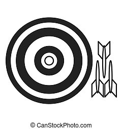 bullseye with darts