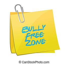 bully, 地域, イラスト, デザイン, 無料で, ポスト