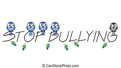 bullying, fermata