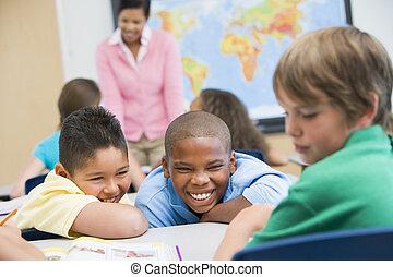bullying, in, basisschool