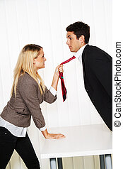 bullying, in, de, workplace., agressie
