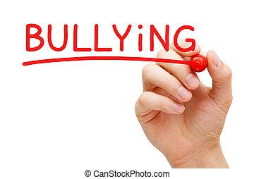 Bullying Red Marker