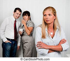 bullying, werkplaats, kantoor