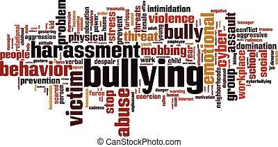 Bullying word cloud