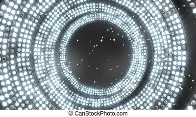 bulwy, godowe światło, loopable, tło, błyszczący