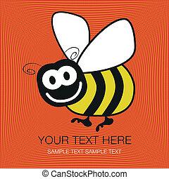 Bumble bee design.