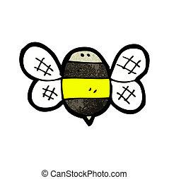 bumble, dessin animé, abeille