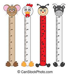 Wildlife Stickers - Bumper children meter wall. Wildlife ...