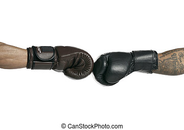 bumping gloves