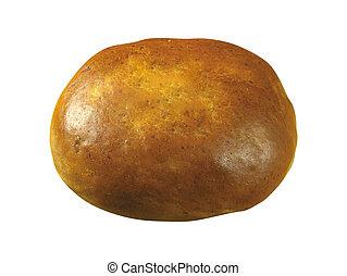 bun isolated on white