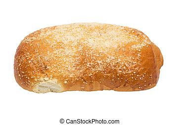 bun on a white background