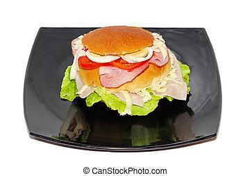 Bun sandwich