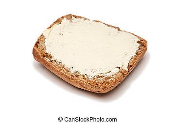 bun with butter