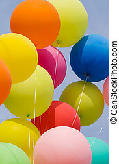 bunch of balloons