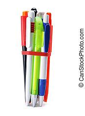 Bunch of Ballpoint Pens