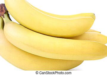 Bunch of bananas. Close up.