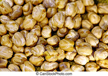 Bunch of chickpeas