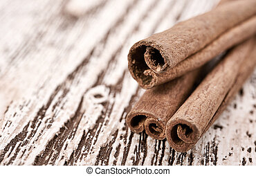 Bunch of cinnamon sticks