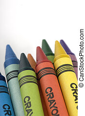 Bunch of crayons