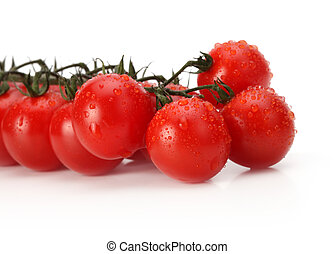 Bunch of fresh cherry tomato