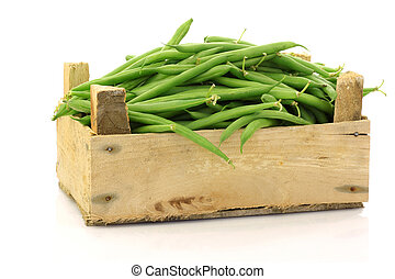 bunch of green beans