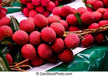 Bunch of lychee