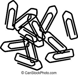 Bunch of paper clips