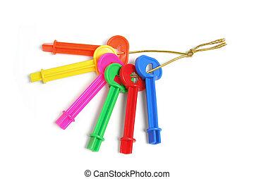 Bunch of Plastic Keys