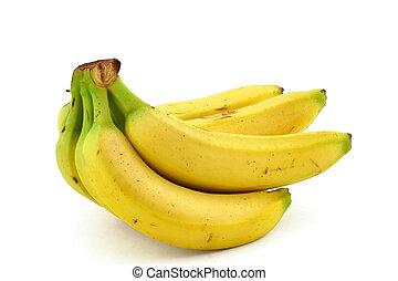 bunch of ripe banana